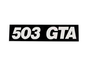 """""""503 GTA"""" Aufkleber"""