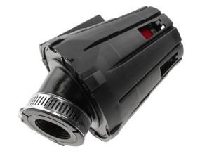 Luftfilter Schaumstoff mit Spritzkappe 45° (Ø 28 mm)