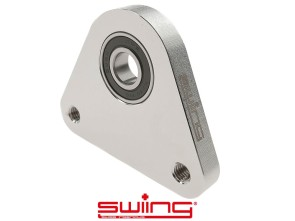 swiing Dreieck-Lagerplatte Racing Inox Piaggio