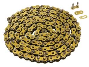 Antriebskette gold Kleinmotorrad universal (420P)
