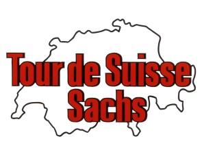 Aufkleber Tour de Suisse Tank Sachs