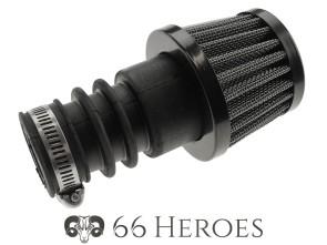 Pilzluftfilter Gitter schwarz Dell'Orto PHBG Ø=32 mm (66Heroes)