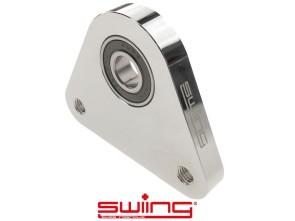 swiing Dreieck-Lagerplatte Racing Alu Chrom Piaggio