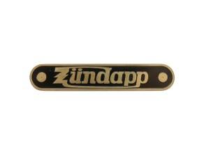 Zündapp Markenschild Messing