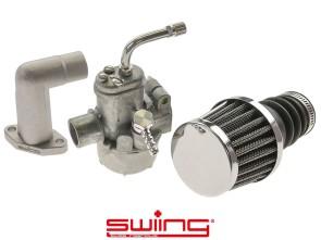 swiing Vergaserset 15 mm Puch X30 NS, NL (Bing SRE)
