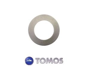 Distanzscheibe 0.5 mm Pedalenachse Tomos