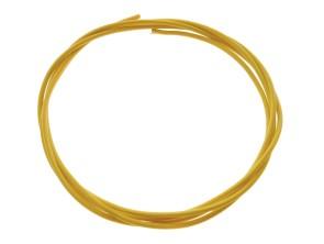 Stromkabel 1-adrig gelb 1mm² (per Meter)