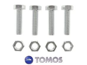 Set Schrauben Zahnkranzbefestigung M7x25 mm Tomos Quadro / Sprint