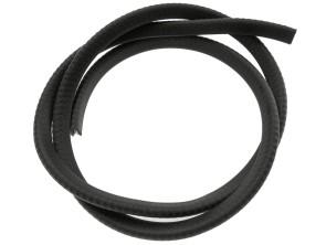 Kantenschutz 2.5 - 4 mm schwarz verstärkt (per Meter)