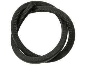 Kantenschutz 4 - 6 mm schwarz verstärkt (per Meter)