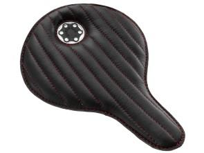 Sattel Custom Echtleder schwarz