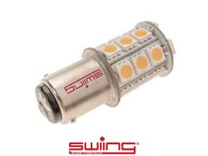 LED 6V Birne Scheinwerfer BA15d RETRO (hellgelb-warm)