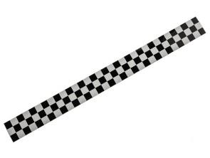 Zielflagge Streifen 3 x 33 cm