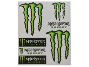 """Werbekleber """"Monster Energy"""" klein"""