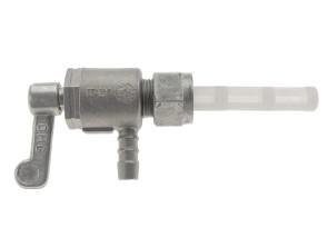 Benzinhahn M12x1, 90° (Hebel stirnseitig; untenrum)