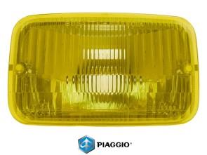 Reflektor & Glas Piaggio Bravo / Super Bravo gelb