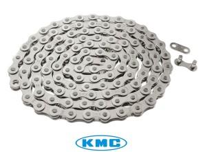 KMC Tretkette silber geräuscharm universal
