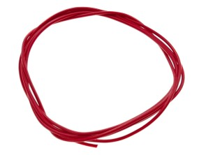 Stromkabel 1-adrig rot 0.75mm² (per Meter)