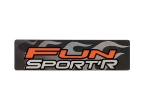 Aufkleber Tomos Fun Sport Seitenverkleidung