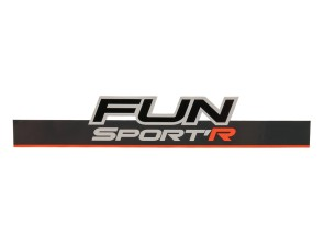 Aufkleber Tomos Fun Sport Rahmen