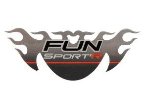 Aufkleber Tomos Fun Sport Lampenmaske