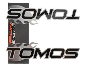 Aufkleber Tomos Fun Sport Tank