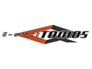 Aufkleber Tomos E-Start Seitenverkleidung