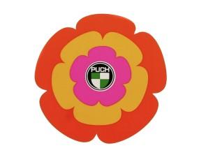 Aufkleber Hippe-Blume Schutzblech Puch X30 Velux