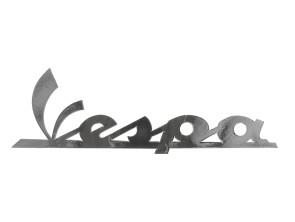 Aufkleber Vespa Chrom