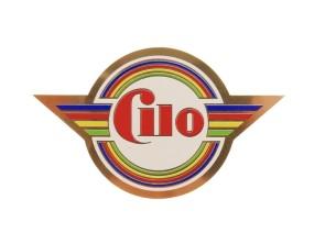 Aufkleber Cilo Steuerrohr (neue Ausführung)