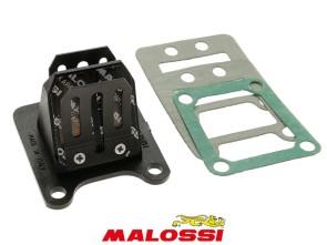 4-Klappmembran-Einsatz Karbonit Malossi Puch / Peugeot 103 / 104 / 105