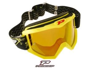 ProGrip Brille MX 3204 Raceline gelb matt verspiegelt