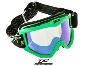 ProGrip Brille MX 3204 Raceline grün matt verspiegelt