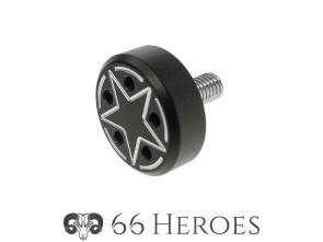 Schraube Seitenschutz 11 mm Alu schwarz Star
