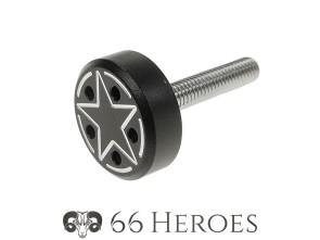 Schraube Seitenschutz 25 mm Alu schwarz Star