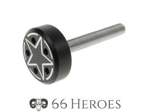 Schraube Seitenschutz 35 mm Alu schwarz Star