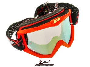 ProGrip Brille MX 3204 Raceline rot matt verspiegelt