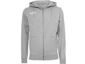 Mofakultwear Zip-Hoodie Basic Grey Man (S-XXXL)