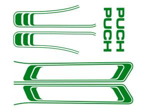 Klebersatz Puch Maxi grün