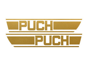 Tankkleber Puch X30 (gold)
