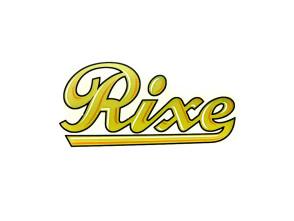 """Rixe"" Wasserabziehbild gold"