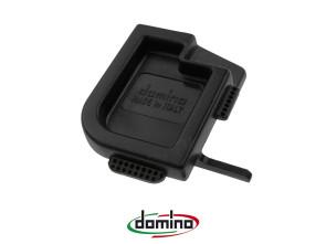 Schutzdeckel Kunststoff schwarz klein Domino universal