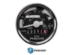 Veglia Tachometer original 60km/h Piaggio Ø 48 mm