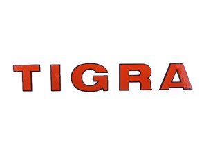 """Tigra"" Aufkleber - neue Ausf."