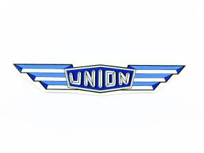 """Union"" Wasserabziehbild blau"