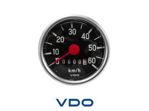 VDO Tacho 60 km/h Ø48 mm NOS