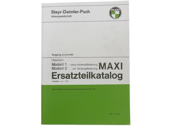 Ersatzteilkatalog Puch Maxi S, N (AT)