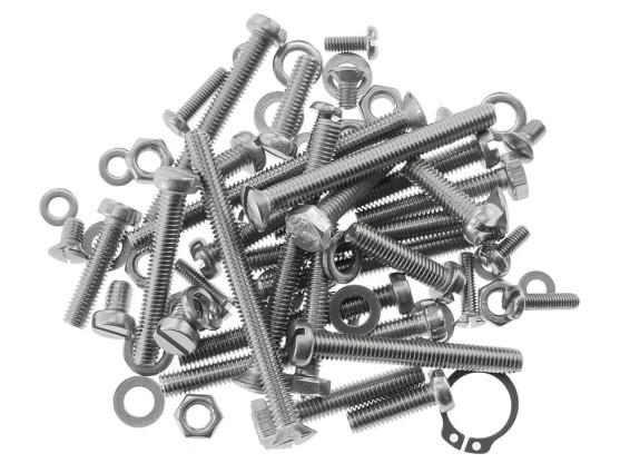 Set Schrauben Motor ZA50 Inox