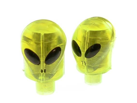 Ventilkappen Alien blinkend