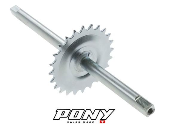 Tretachse 24 Zähne Vierkant Pony GTX Beta 521 (P1210)